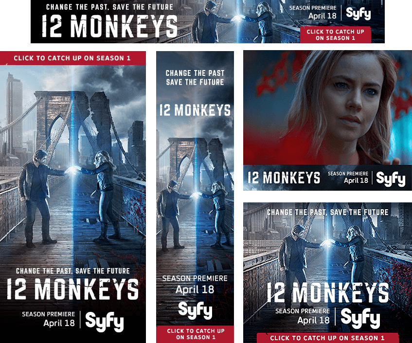 12 Monkeys Rich Media Project Images - Firestride Media