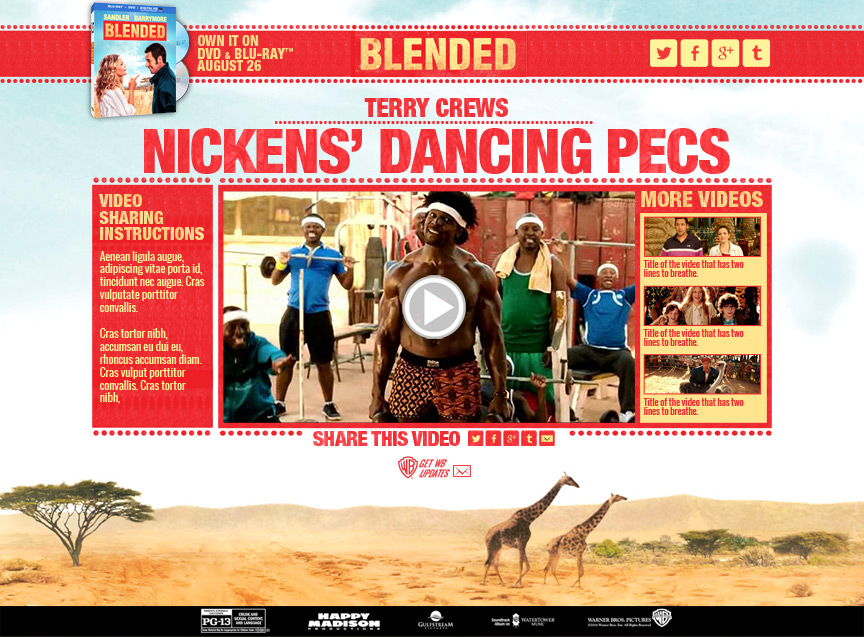 Blended - Nicken's Dancing Pecs - Firestride Media