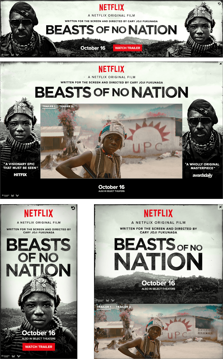 Netflix Beasts of No Nation - Firestride Media