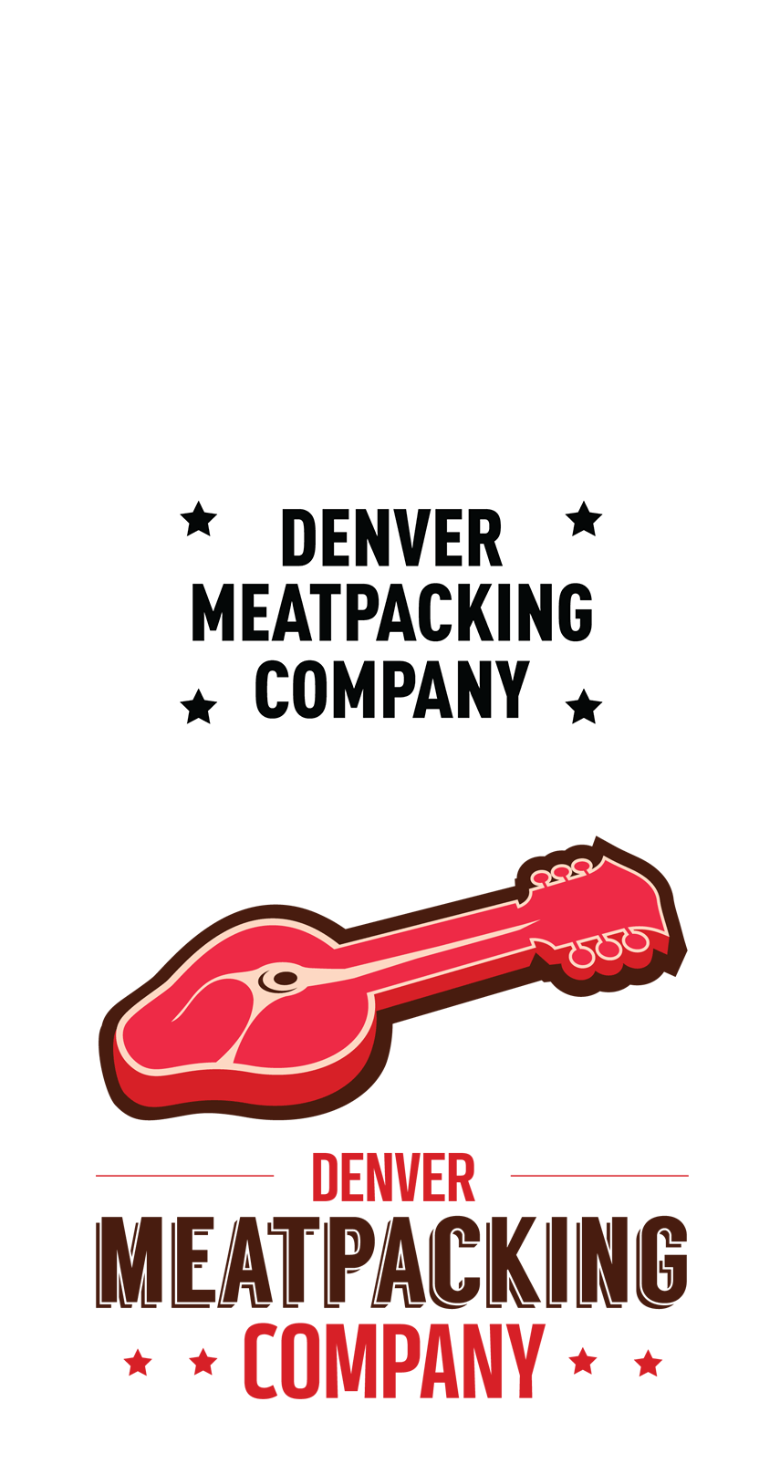 Denver Meatpacking Company Logo - Firestride Media