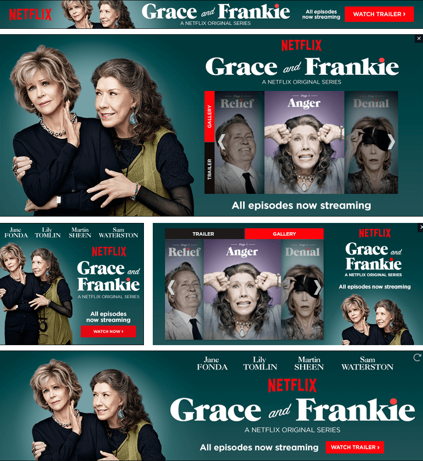 Netflix Grace and Frankie - Firestride Media