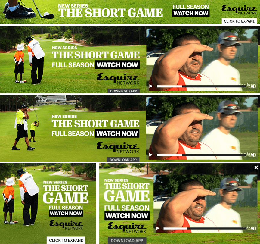 Esquire's Short Game - Firestride Media