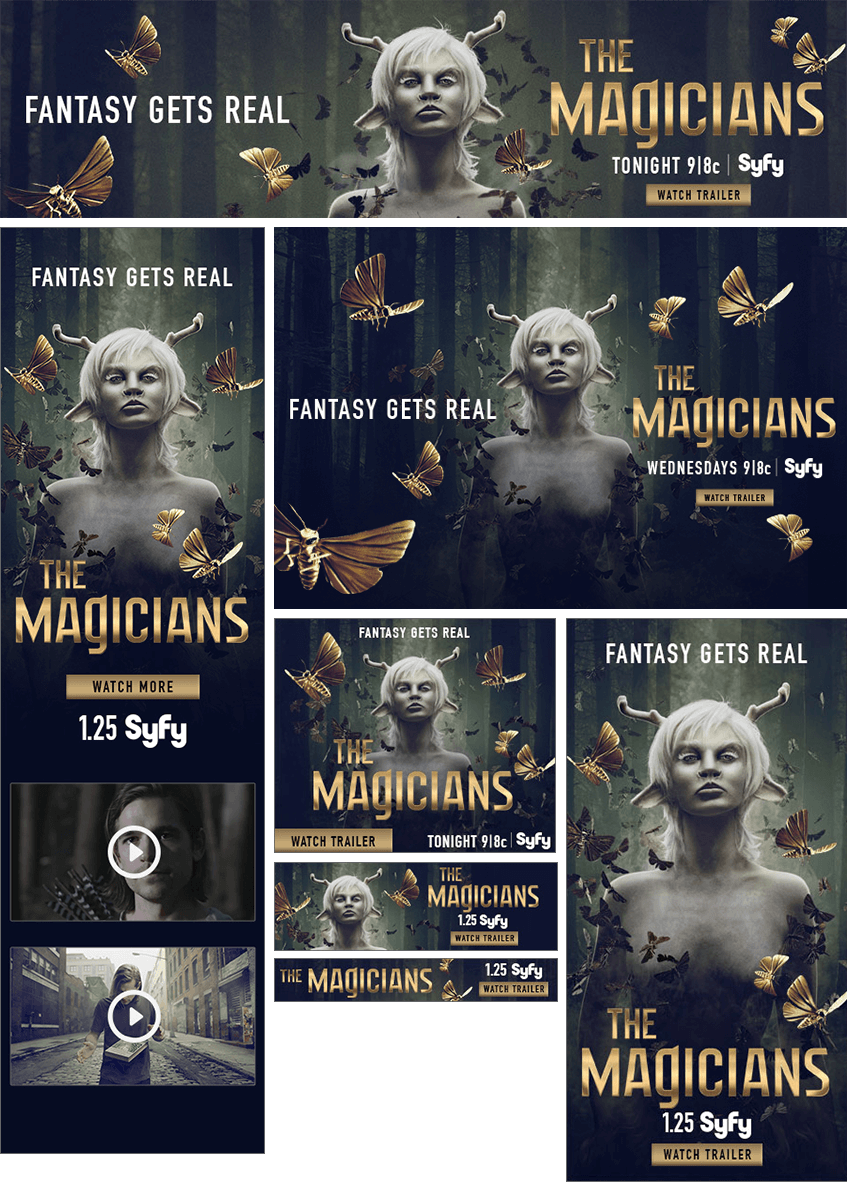 Magicians Project Images - Firestride Media