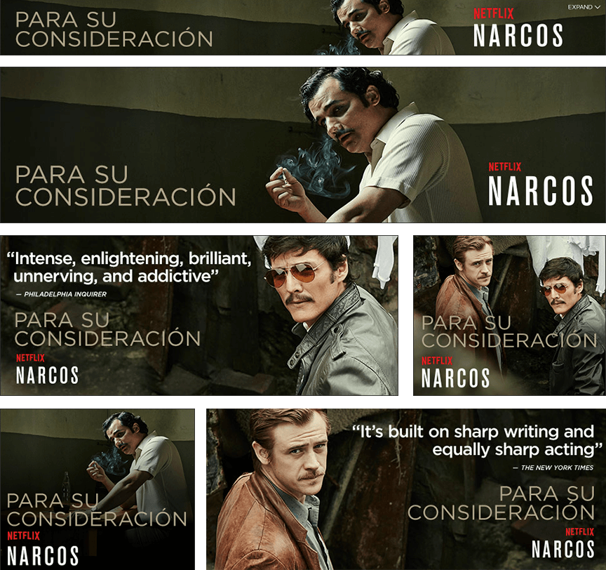 Narcos Rich Media Images - Firestride Media