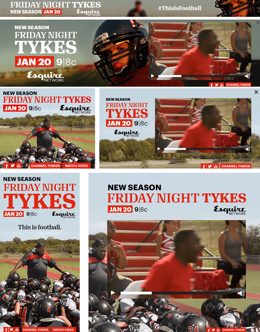 Friday Night Tykes - Firestride Media