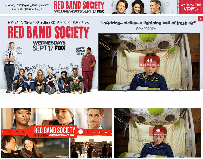Red Band Society Rich Media - Firestride Media