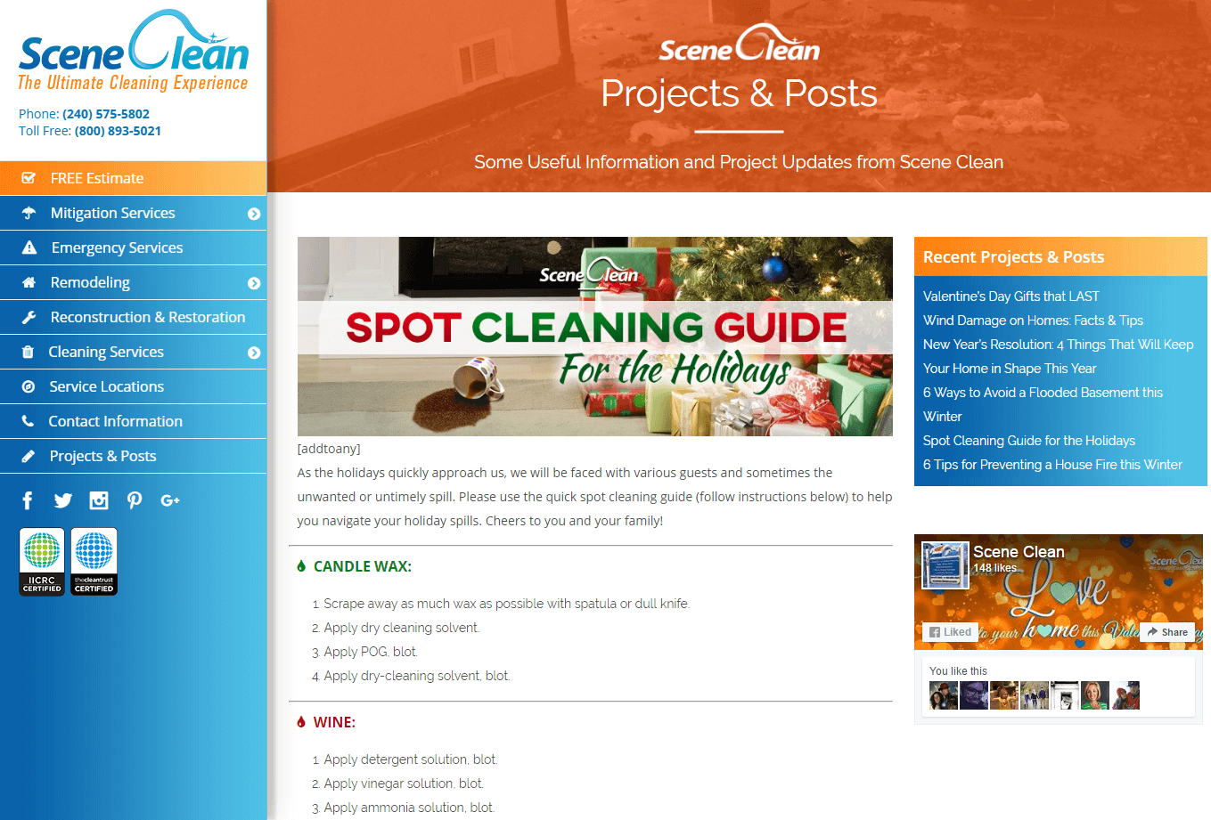 Scene Clean Project Image - Firestride Media