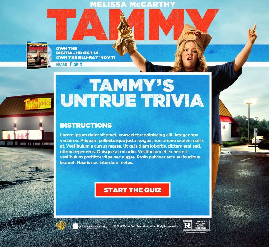 Tammy's Untrue Trivia - Firestride Media