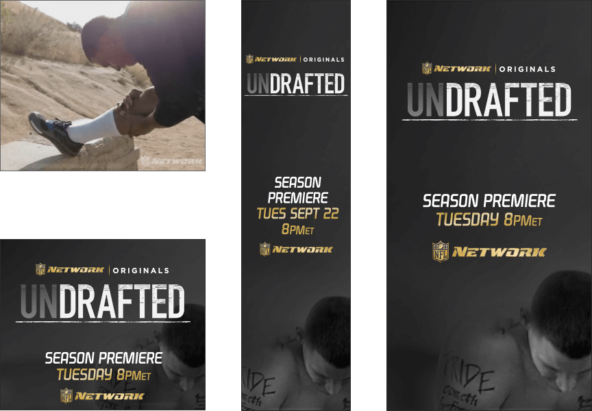 NFL Network Undrafted - Firestride Media