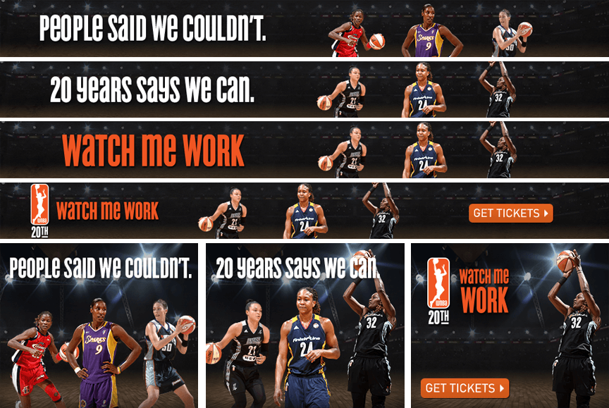 WNBA - Firestride Media